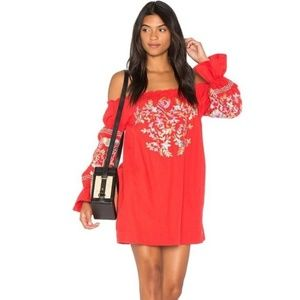 [Free People] Fleur de Jour  Mini Dress